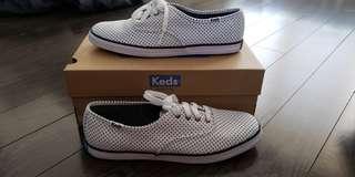 Keds micro dot white sneakers size 7