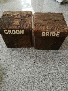 Wedding angpow box