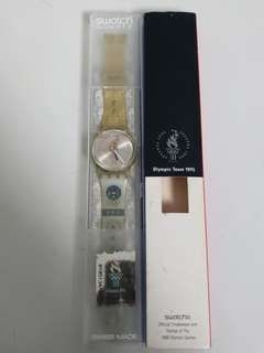 Swatch Team Hong Kong Olympic 1996 limited edition watch