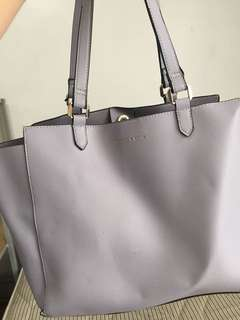 Authentic charles and keith tote bag