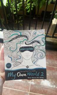 Preloved Coloring Book for Adults - My Own World 2 #AFBakrie