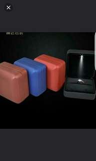 Led ring box brand new