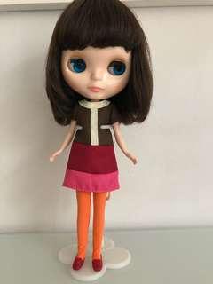 Simply Chocolate Blythe Doll