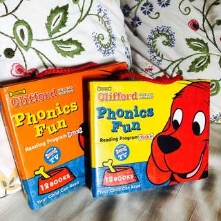 Scholastic Clifford The Big Red Dog Phonics Fun