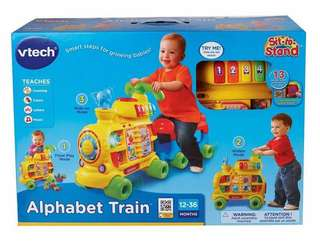 NEW Vtech Push & Ride Alphabet Train
