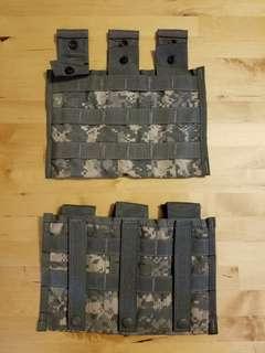 美軍 US M4 三彈匣袋 ACU