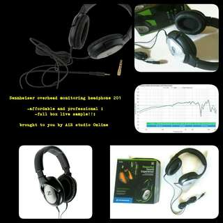 monitoring headphone Sennheiser 201