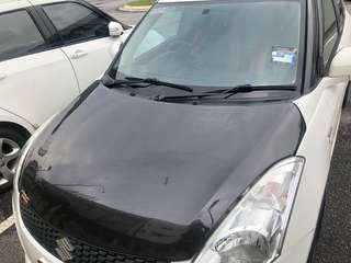 CARBON FIBRE FRONT BONNET SUZUKI SWIFT 1.4
