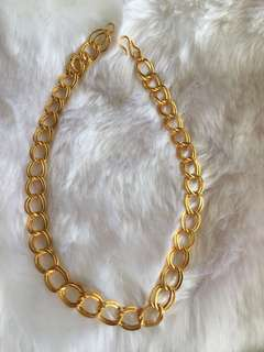 18k Gold Coated CHAIN for Unisex