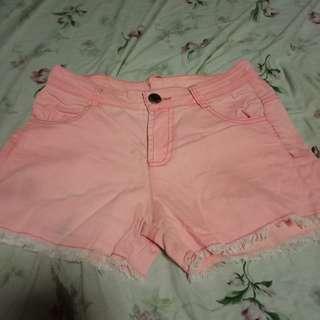 Peach sexy short