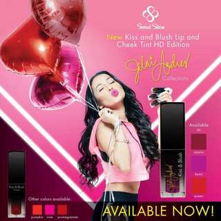 Kiss and Blush Lip and Cheek Tint HD Edition