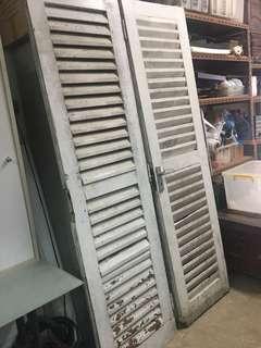 Heavy Old Door
