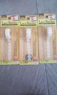 Lace Border Sticker