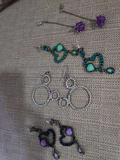 Super Sale! Swarovski earring collection from HK