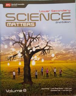 Science Matters Lower Secondary 2nd Edt- Vol B (Sec 2 Normal Academic)