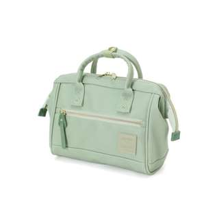 AT-H1021 Anello Mini PU 2way Boston bag - Mint Green