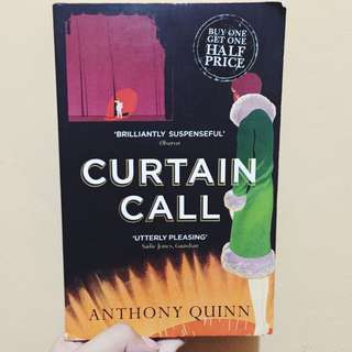 P200 CURTAIN CALL by Anthony Quinn
