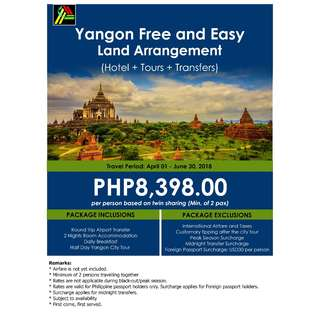 Yangon Free and Easy Land Arrangement