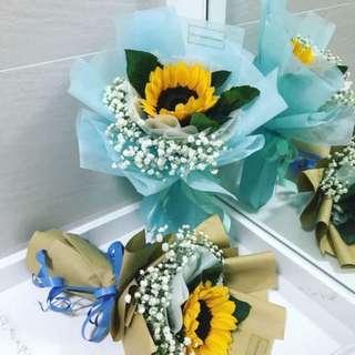 Flower Bouquet   Graduation Bouquet