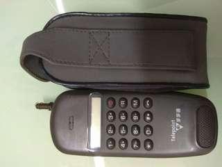 第二代流動电話一步步通只作收藏