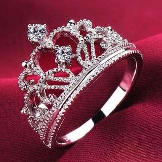 Sugar And Cotton Princess Tiara Ring