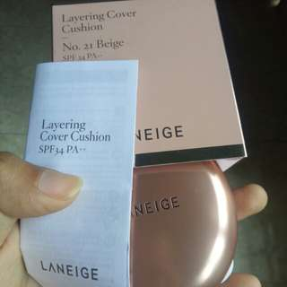 LANEIGE LAYERING COVER CUSHION PLUS CONCEALER