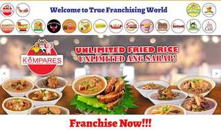 KUMPARES FOOD FRANCHISE BUSINESS NATIONWIDE