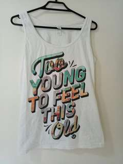You Me At Six singlet