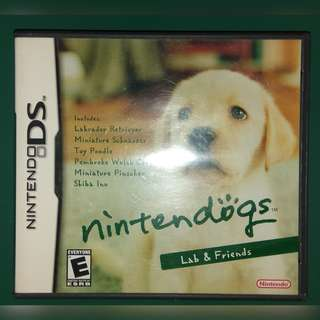 [Sale] DS Nintendogs Lab and Friends