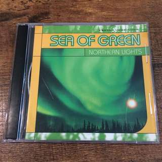 Sea of green - nothern lights