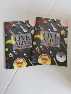 Bn Live alive young living book essential book