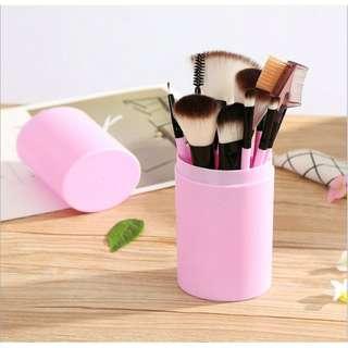Pink Brush 12 Set + Case