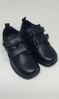 Clarks leather boy school shoes