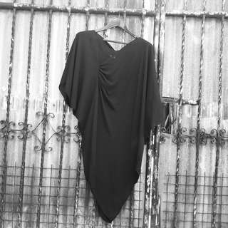 Junya Watanabe Assymetrical draped dress