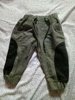 Celana panjang pipiniko pinggang karet