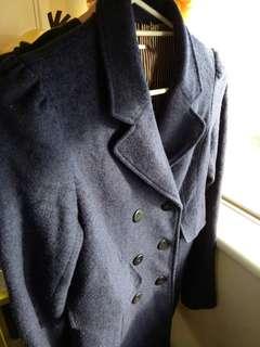 Long Blue Jacket
