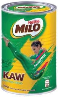 Milo kaw 500g tin