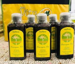 Lemongrass Oil 5 bottles
