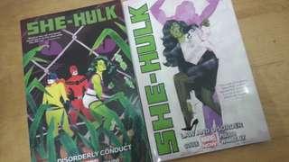 Marvel Comics: She-Hulk (Vol. 1-2)