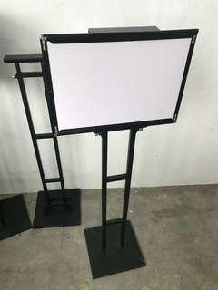 Whiteboard Display stand