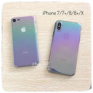 3D Water droplets style Rainbow case for iPhone 7/8/X