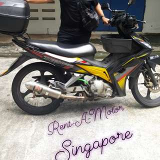 Class 2b bikes for rent