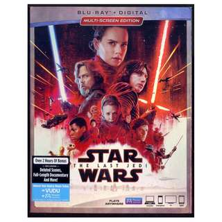 Star Wars The Last Jedi - New Blu-Ray