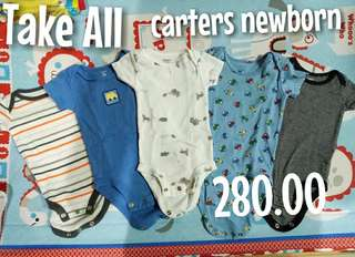 Carters set of Onesies