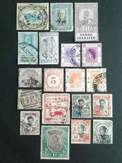 Vintage valuble stamps