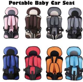 Portable Car Seat Child Toddler convertible Booster Chair