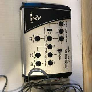 Mohawk MX-3 3 ways electronic crossover with remote bass control