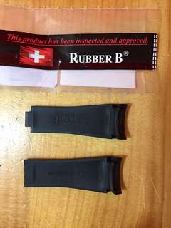Rubber B strap for rolex