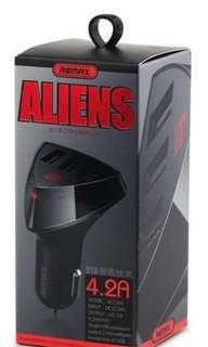 car charger remax alien