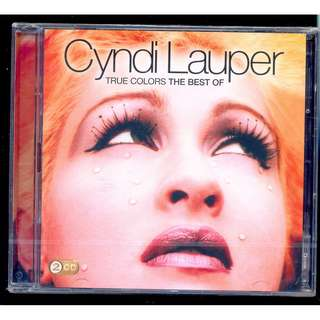 Cyndi Lauper True Colors The Best Of - New CD